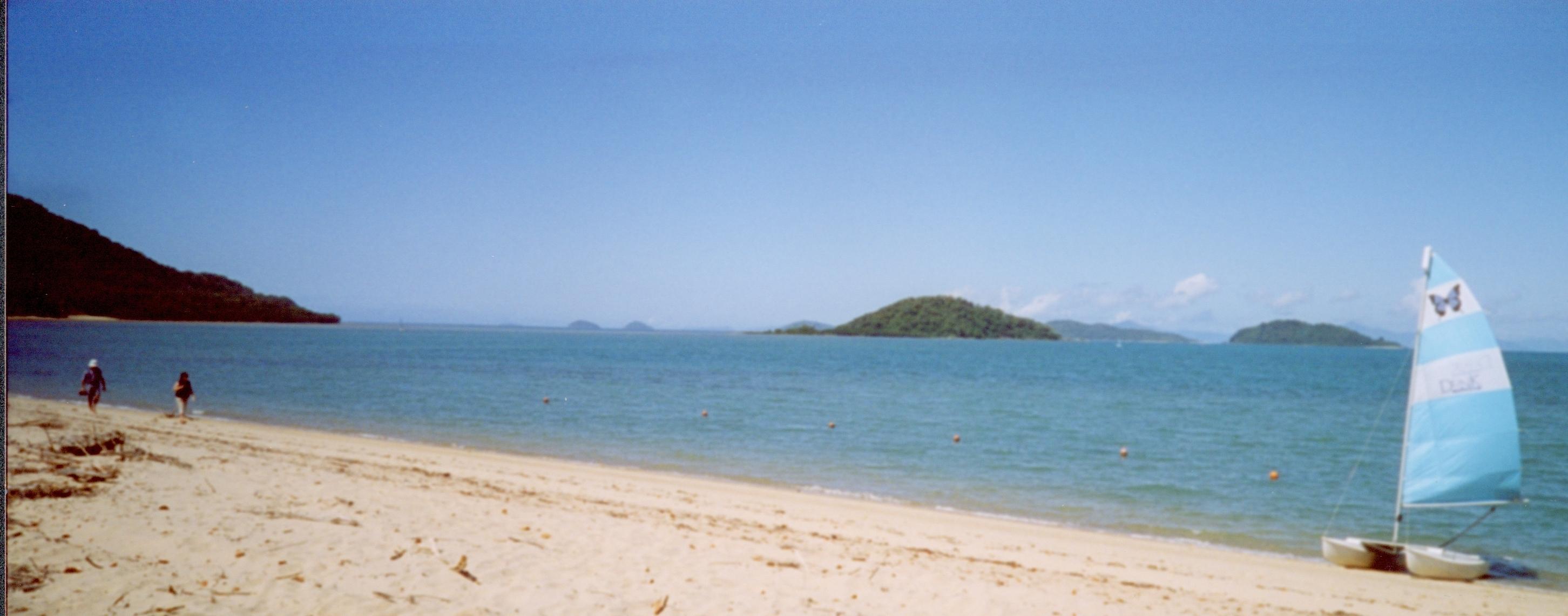 Dunk Island Australia Destroyed: Dunk Island, Queensland, August 2003