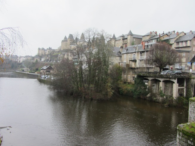 Uzerche and the Vezere river
