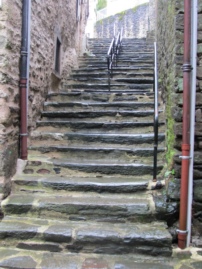 Old steps at Uzerche
