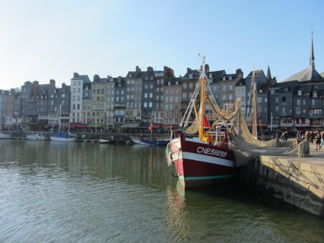 Honfleur quaint harbour