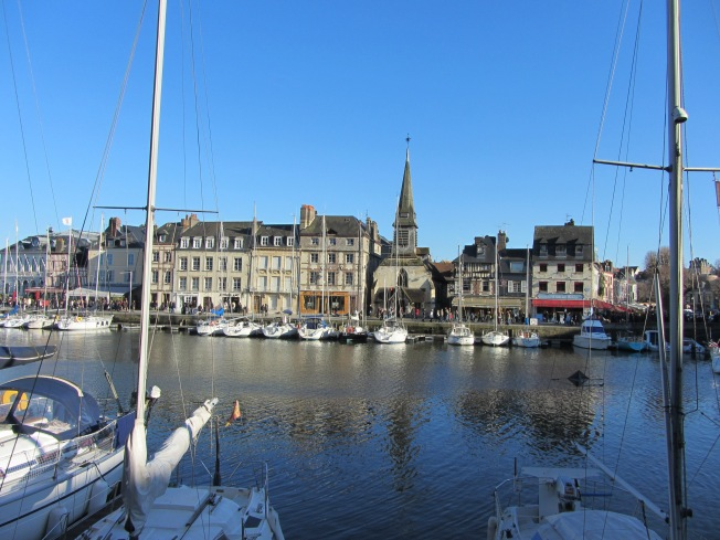A different view of Honfleur harbour