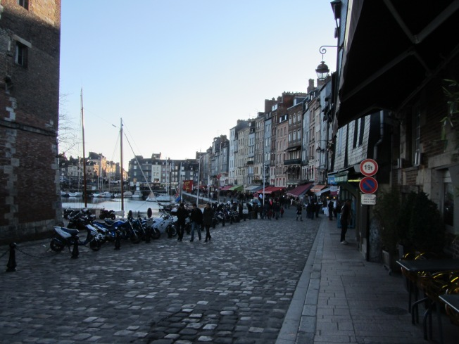 Strolling through Honfleur