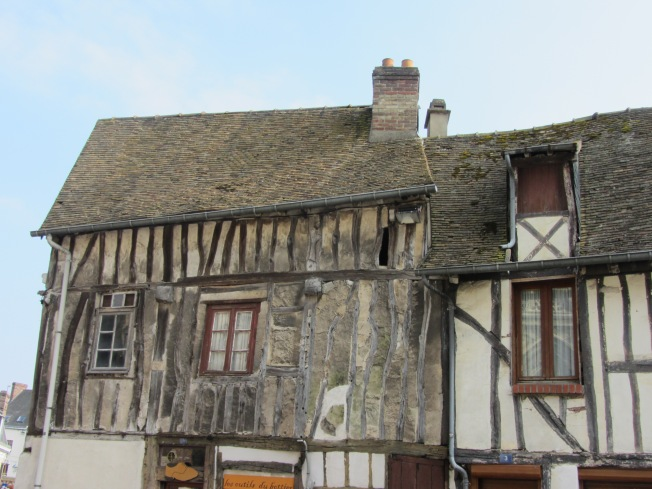 Half timbered houses