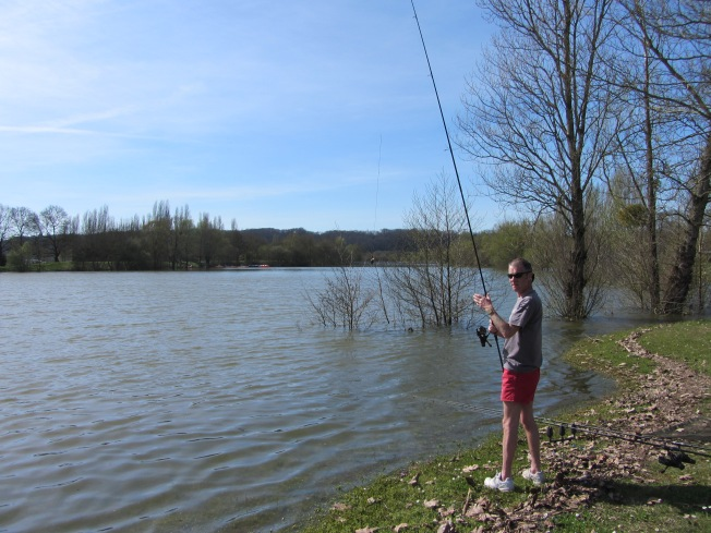 Carp Fishing in the sun