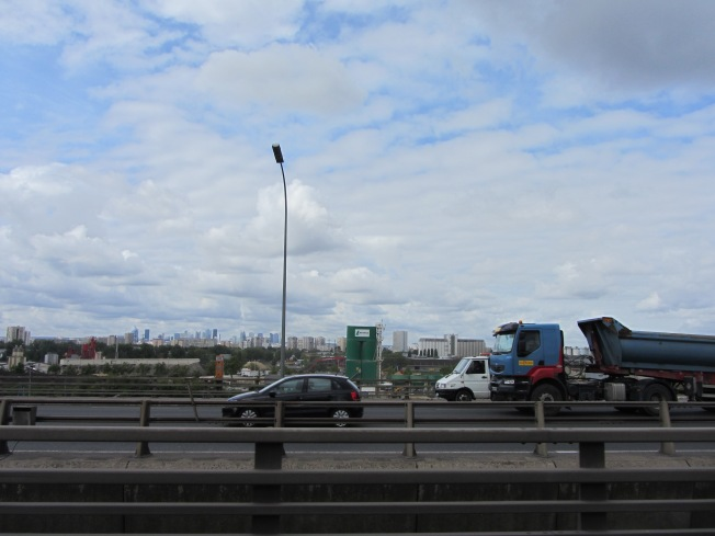 Inching forward on Paris Ring Road
