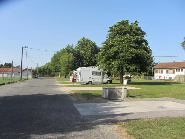 The free aire at St André-sur-Vieux Jonc