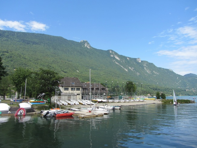 Part of the Marina at Lac de Bourget