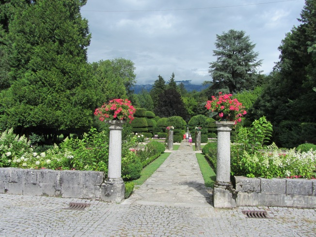 The Priory Gardens, Bourget du Lac