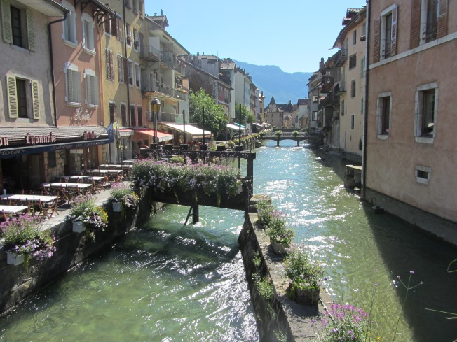 Quaint and beautiful Annecy