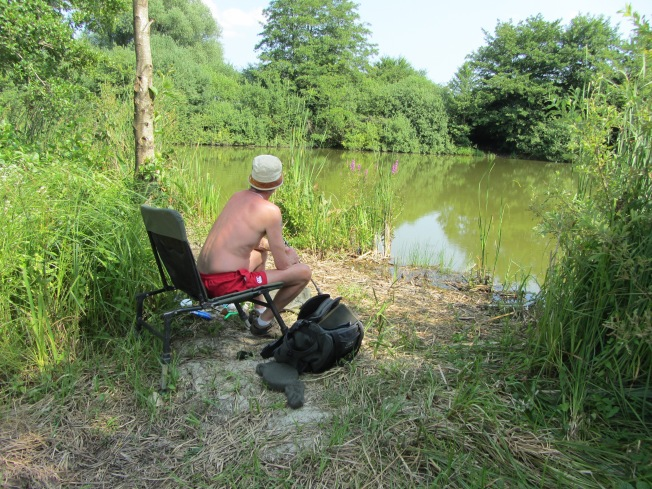 Adonis fishing at Cornee de Rechicourt
