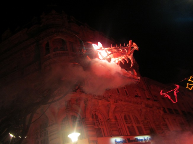 The Fireworks Spitting Dragon