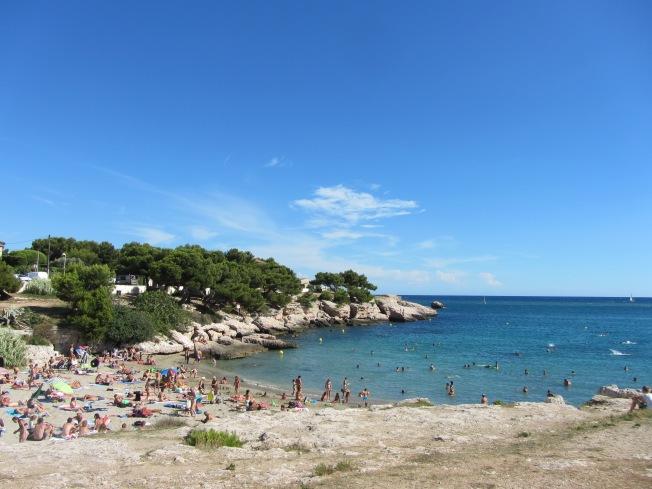 Cove and beach
