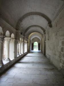 Cloister at Monastère de St Paul de Mausole