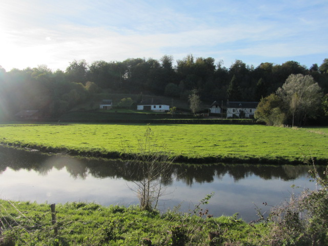 The Charentonne river at Broglie