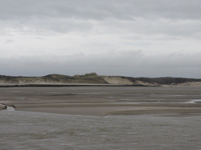 Sand dunes on Berck's beach