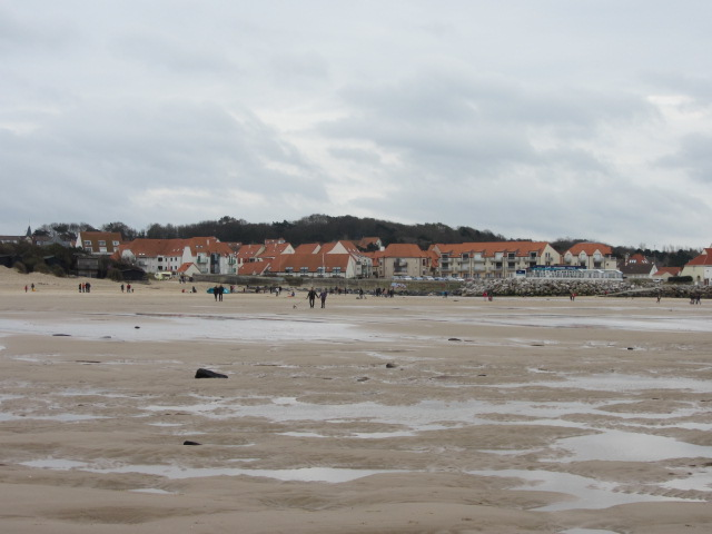 Berck seen from the beach