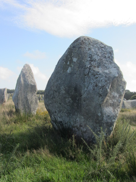 Some of the bigger megaliths at Ménec