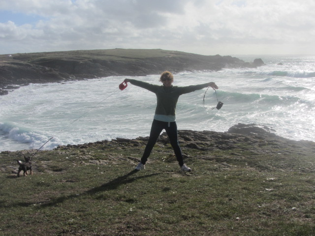 Loving the wind and the sea at Quiberon