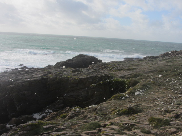 Côte Sauvage or Wild Coast at Quiberon