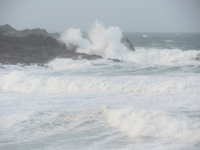 We survived the storm at Quiberon