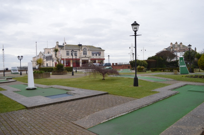 Then I passed the Minigolf green