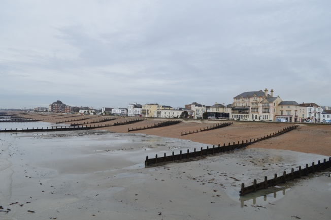 Bognor Regis sea front looking west