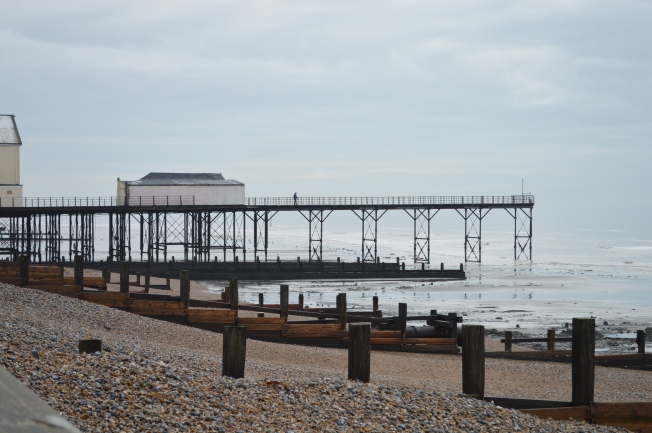 The Pier from the promenade, looking east