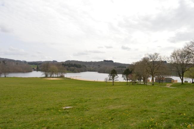 St Pardoux lake
