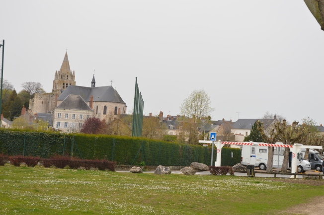 Collegiate at Meung-sur- from motorhome aire