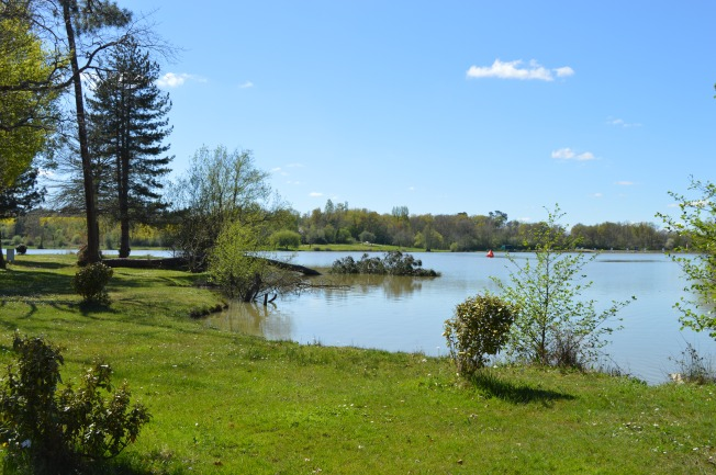 Beautiful weather at Lac -de-l'Uby