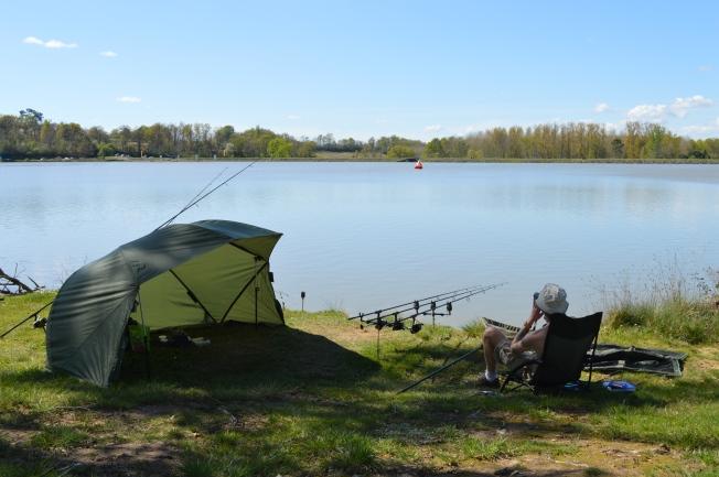 Enjoying 7 days of fishing