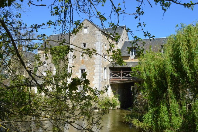 The ancient water mill at Vaas
