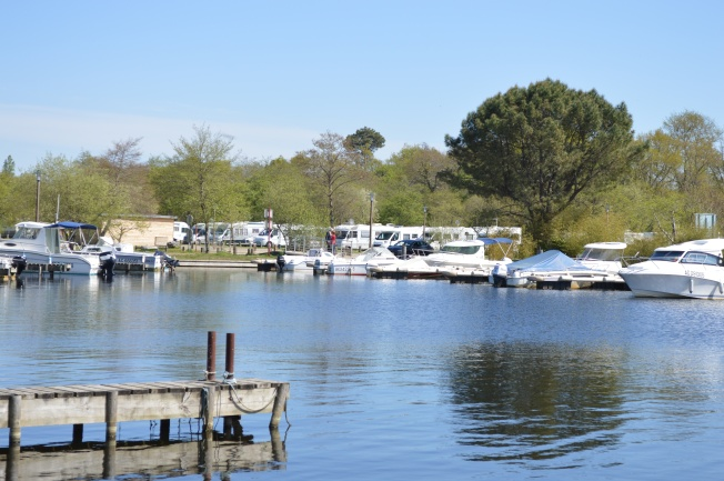 The Marina with motorhome aire in background