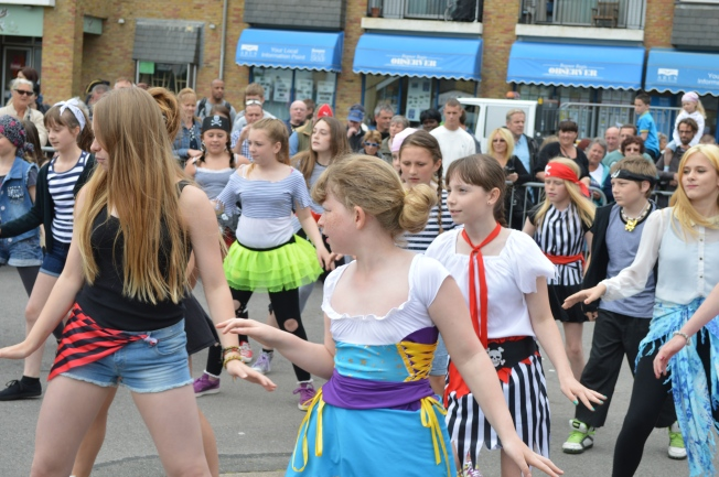 Dance group from the Laburnum School