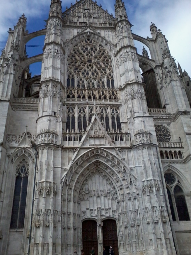Front of Beauvais Cathedral