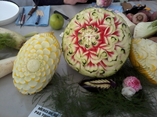 Amazing Melon Carvings