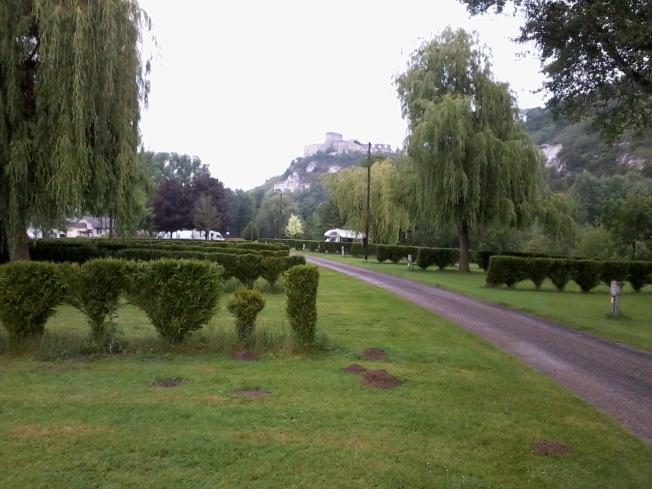 The lovely L'Ile des Trois Rois camping