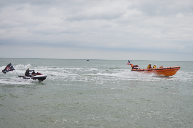 RNLI sea rescue show