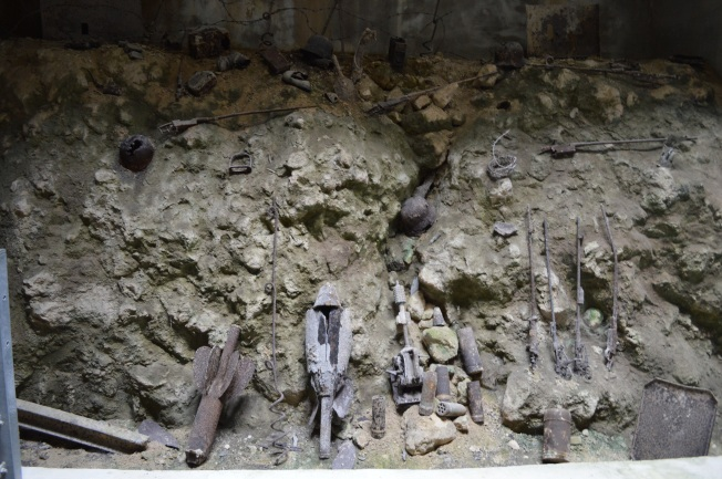 Some gruesome remnants of WW1