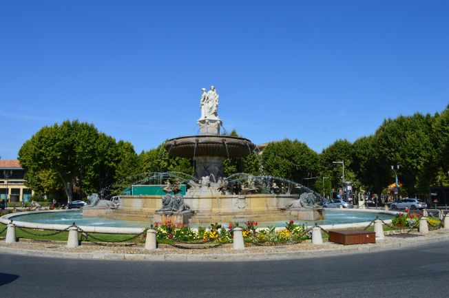 La Rotonde Fountain