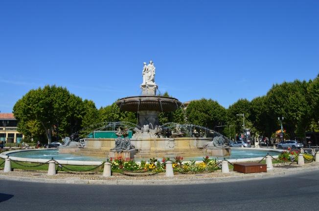 La Rotonde Fountain