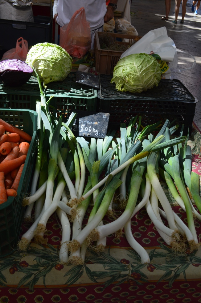 Look at the size of those spring onions!