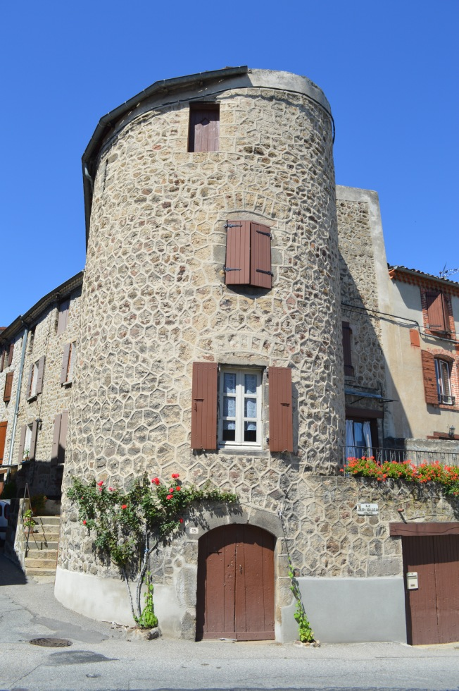 One of the 7 towers in Boulieu-les-Annonay