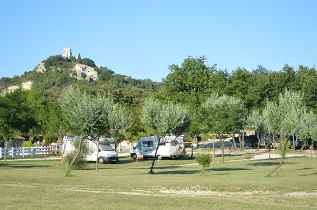 Clansayes motorhome aire