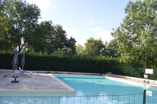 The pool at La Heronniere