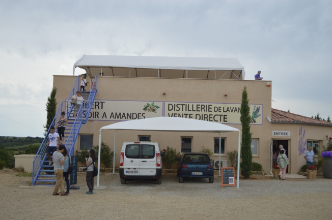 The Terraroma Distillery and shop.