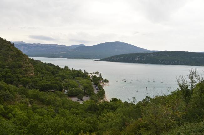 The said view of the lake