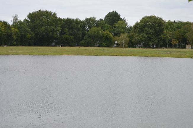 Motorhme aire at St Philbert de Grand Lieu by the lake