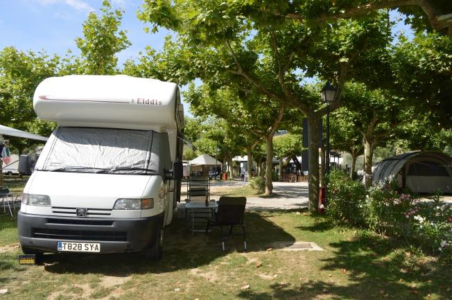 Camping de Ezcaba, Pamplona