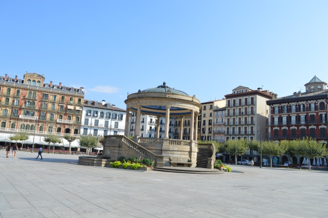 La Plaza Mayor in Pamplona